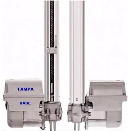 Kit Tampa + Base Motor Basculante Da Central Bv Max Garen  - Eletroinfocia