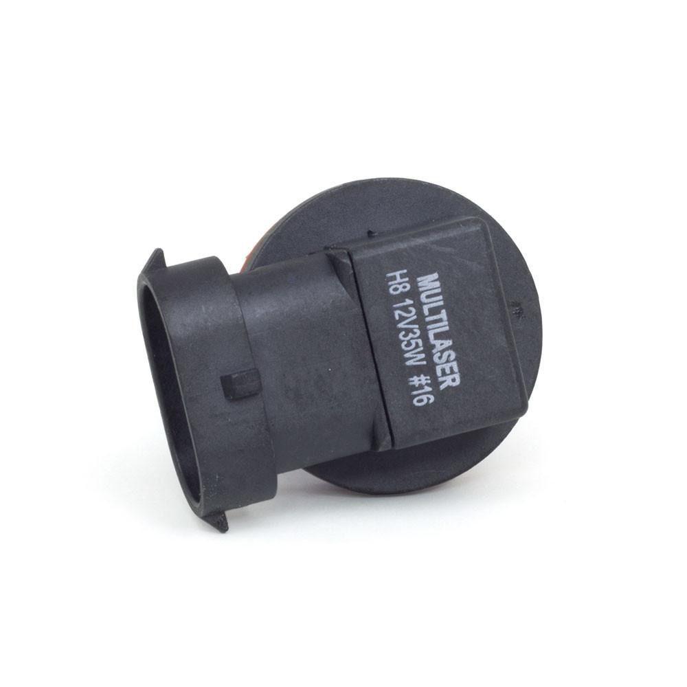 Lâmpada Super Branca H8 12V 55W 5000K AU862 Multilaser  - Eletroinfocia