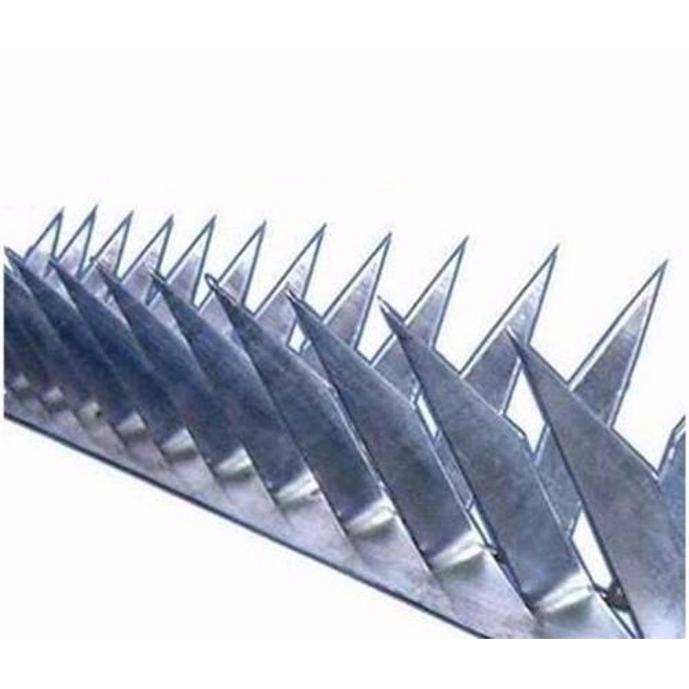 Lança dupla de aço para muro - 103cm x 6,5 cm x 7cm
