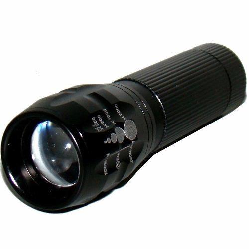 Lanterna Tatica 200w Policia Comando Led 2000x Zoom  - Eletroinfocia