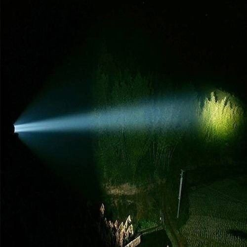 Lanterna Tática Ultra Led Q5 3800watts e 11000 Lumens com zoom até 2000X  - Eletroinfocia