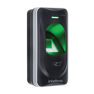 Leitor Biométrico Com RFID LE 311 MF Intelbras  - Eletroinfocia