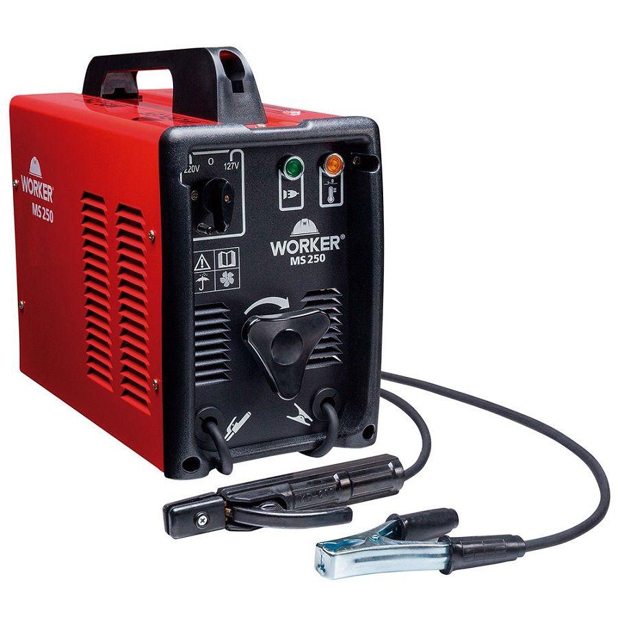 Máquina de Solda MS 250A 127/220V Worker  - Eletroinfocia