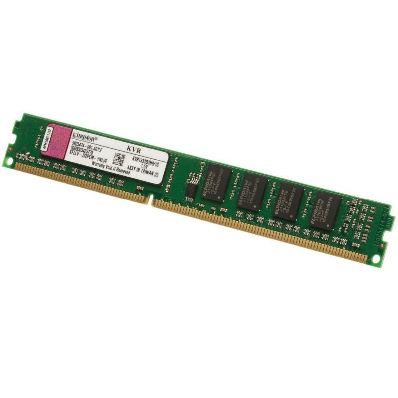 Memoria DDR2 2GB p/ Desktop 800MHZ KVR800D2N6/2G Kingston  - Eletroinfocia