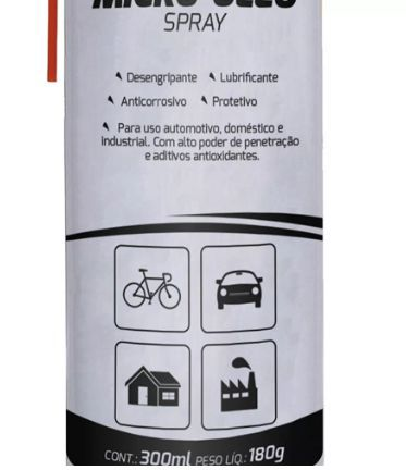 Micro Óleo Spray 300ML - Kala  - Eletroinfocia