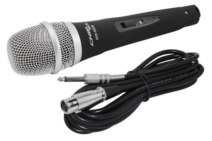 Microfone C/ Fio Alta Frequencia SC-226 Chip Sce