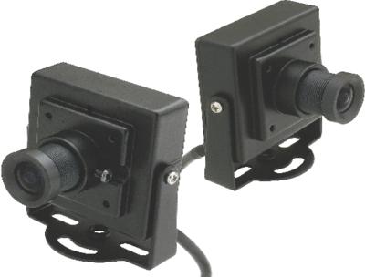 Mini Câmera Quadrada CCD Color 1/4 Multitoc  - Eletroinfocia