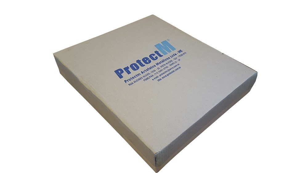 "Mini Rack 19"" Compact Lite 3U X 370mm Porta Acrilica ProtectM  - Eletroinfocia"
