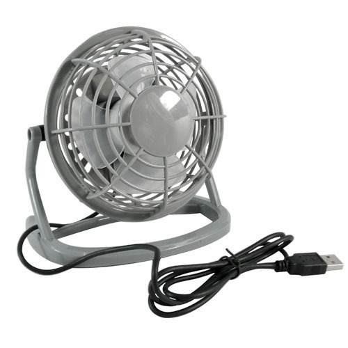 Mini Ventilador USB Cinza Lileng 816 Mini Fan