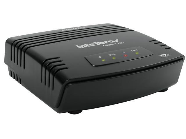 Modem Roteador Gkm 1220 Adsl2+ Intelbras *