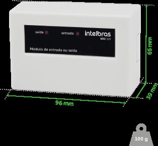 Modulo De Entrada E Saida Mio 520 Intelbras  - Eletroinfocia