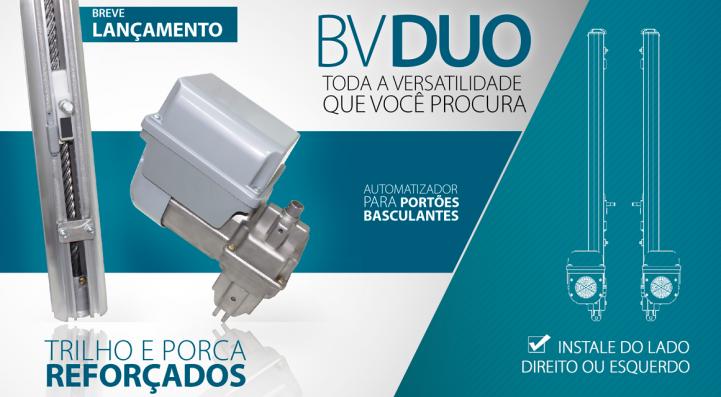 Motor Basculante BV DUO 1/3HP 8S Garen  - Eletroinfocia