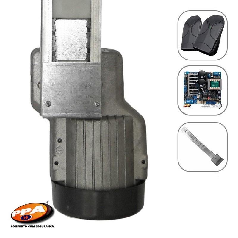 Motor Basculante Corrente Levante Portal 1/4HP Jet Flex Bivolt 1.50m PPA  - Eletroinfocia