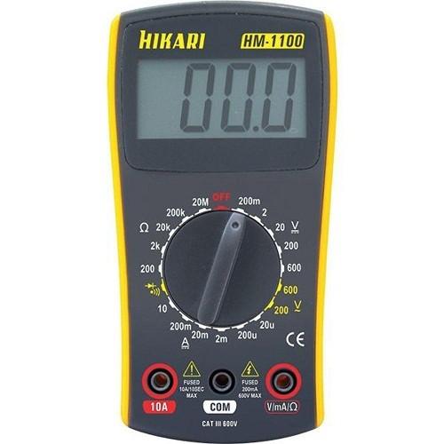 Multímetro Digital HM-1100 21N138 Hikari