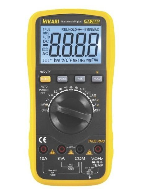 Multimetro Digital HM-2090 21N137 Hikari
