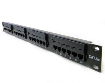 Pach Panel 24 portas CAT5 MUPP0030 Multitoc