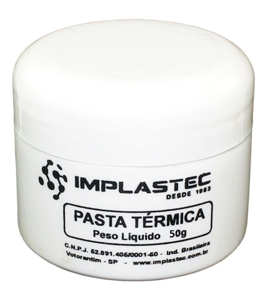 Pasta Térmica 50G Pote Implastec