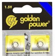 Pilha Alcalina Botão 361A 1,5V 7,85 x 2,15mm 361/G11  c/ 2 Unidades Golden Power