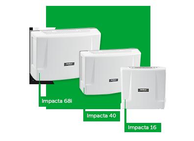 Placa Base Impacta 16 Avulsa Intelbras  - Eletroinfocia