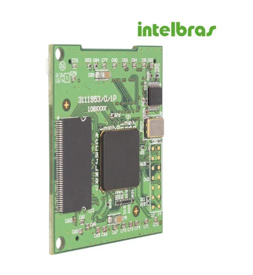 Placa Codec ICIP 30 Intelbras  - Eletroinfocia