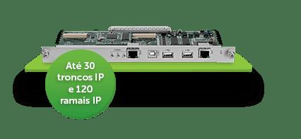 Placa CPU Impacta 140 Intelbras