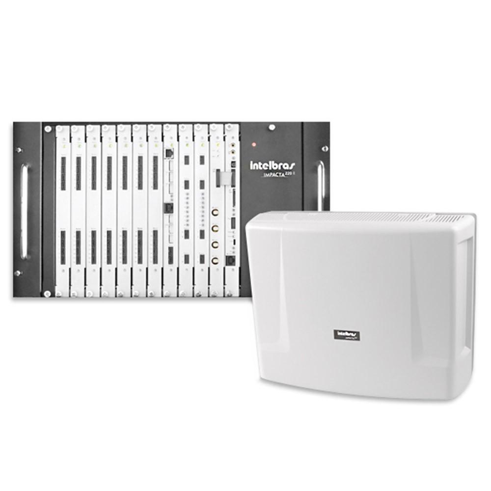 Placa CPU Impacta 220 Intelbras  - Eletroinfocia