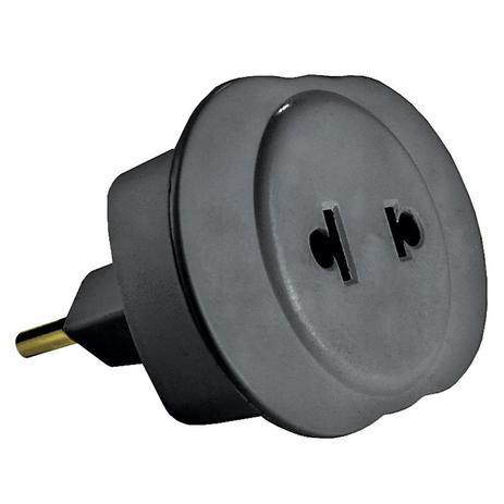 Plug Adaptador de Tomada Universal 2P 10A Techna