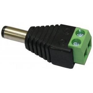 Conector Tipo P4 DC 5,5mm Macho KRE2 P/ Câmeras  - Eletroinfocia