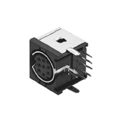 Plug Mini Din 8 Pinos Fêmea Tipo H PCI