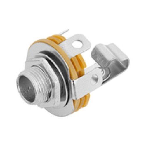 Plug P10 Jack Mono Fechado C/ Rosca  - Eletroinfocia