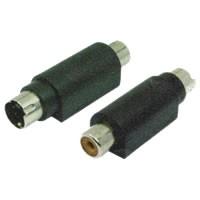 Plug RCA x S-Vídeo 4 Pinos  - Eletroinfocia