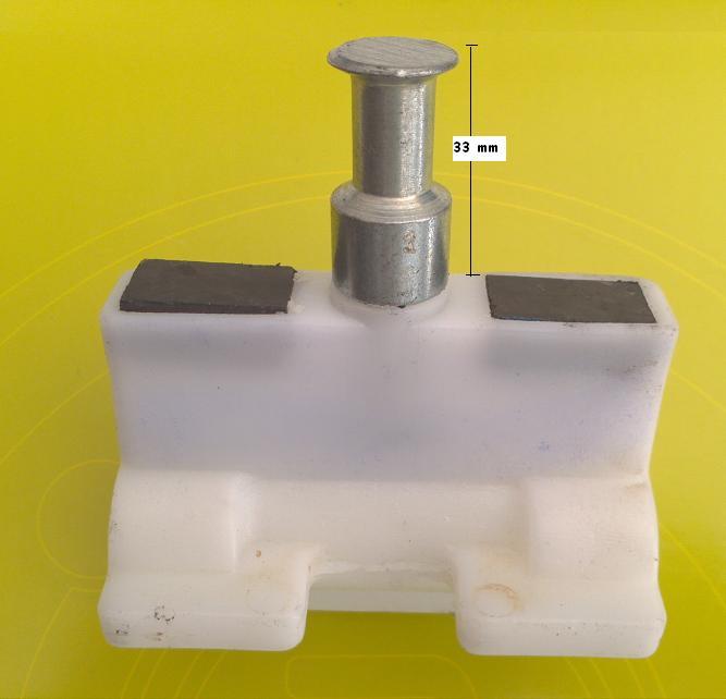Porca Acionadora p/  Motor Basculante 60-1/2 Garen