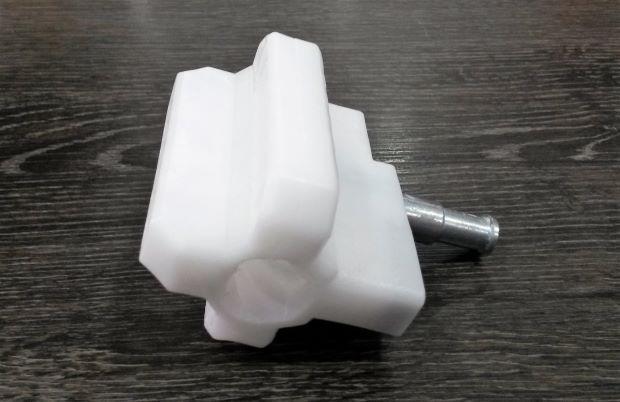 Porca Acionadora p/ Motor Basculante Passo 60 5/8 Bipartida Duo Garen  - Eletroinfocia