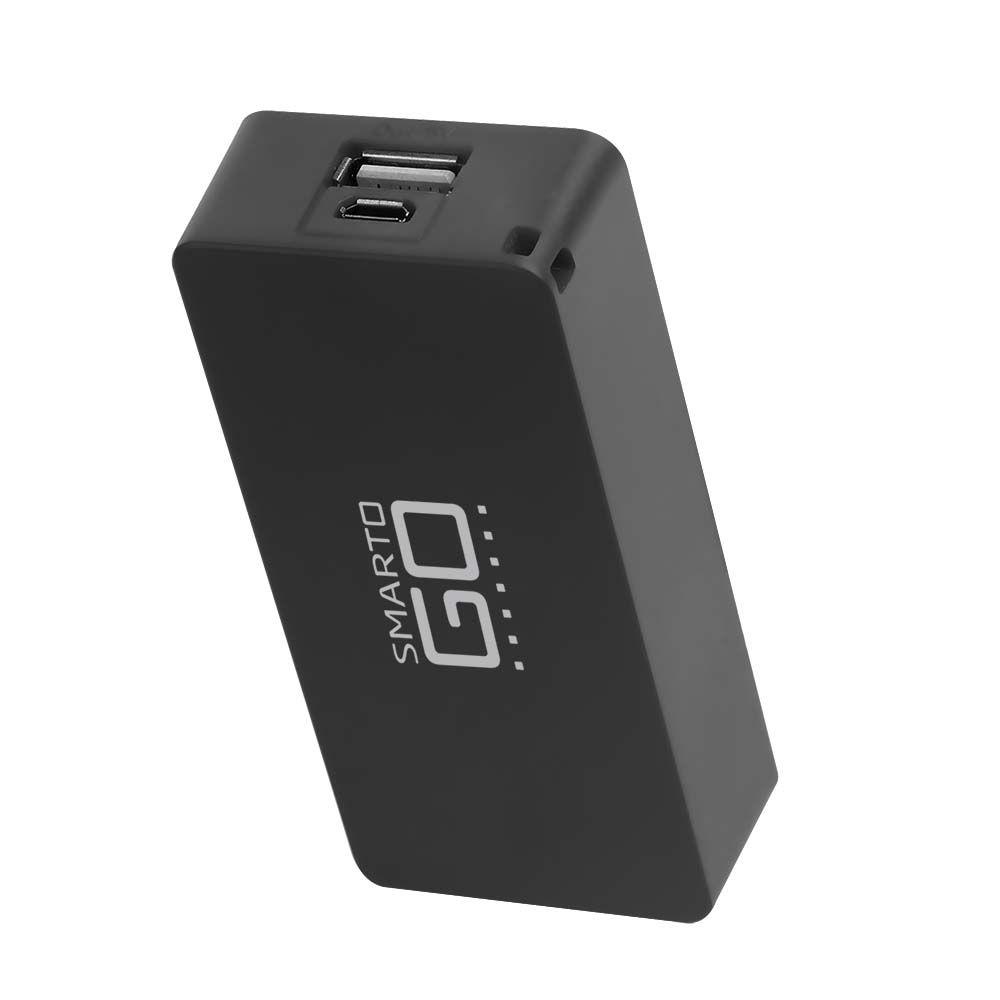 Power Bank Smartogo 4000MaH Preto CB125 Multilaser  - Eletroinfocia