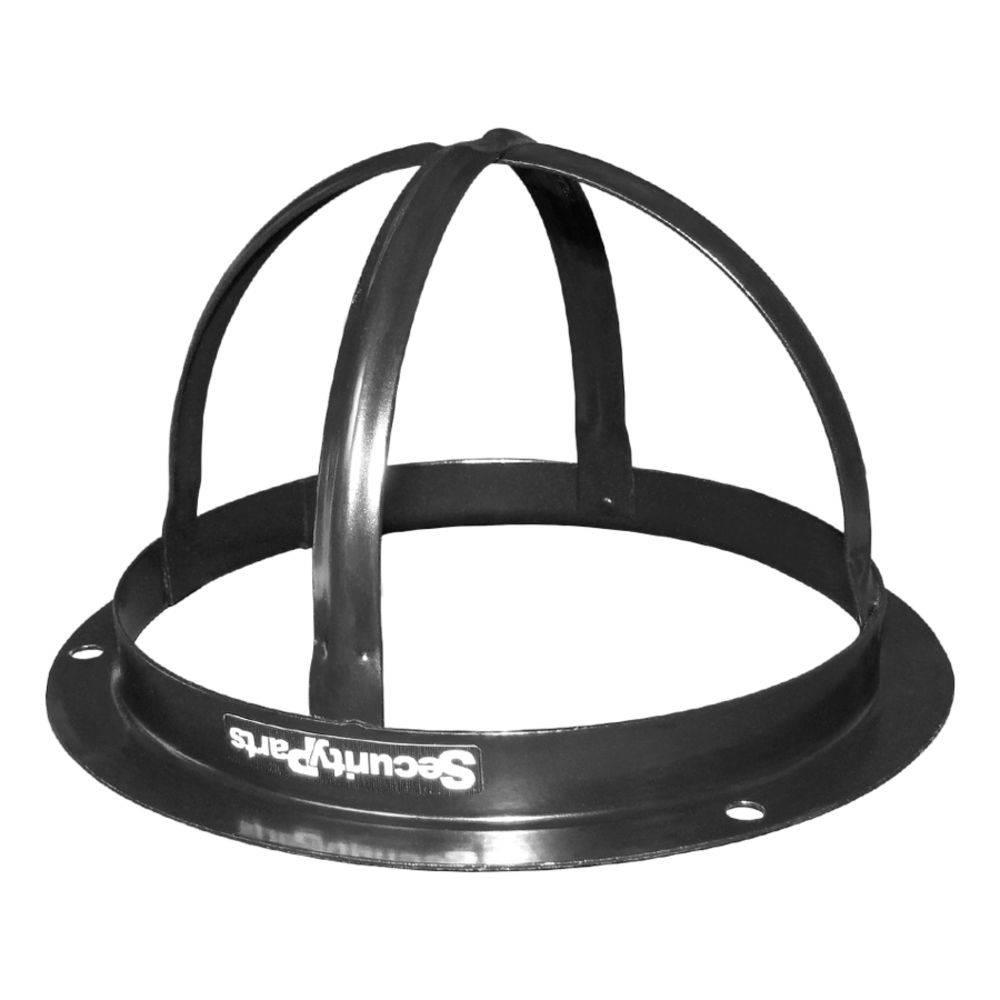 Protetor p/ Câmeras Dome Preto Security Parts  - Eletroinfocia