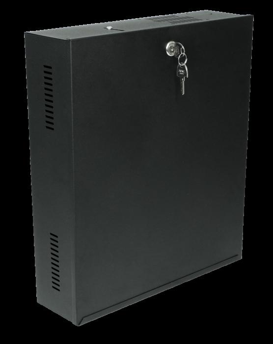 Rack Vertical 350x400x100mm Preto RCG  - Eletroinfocia