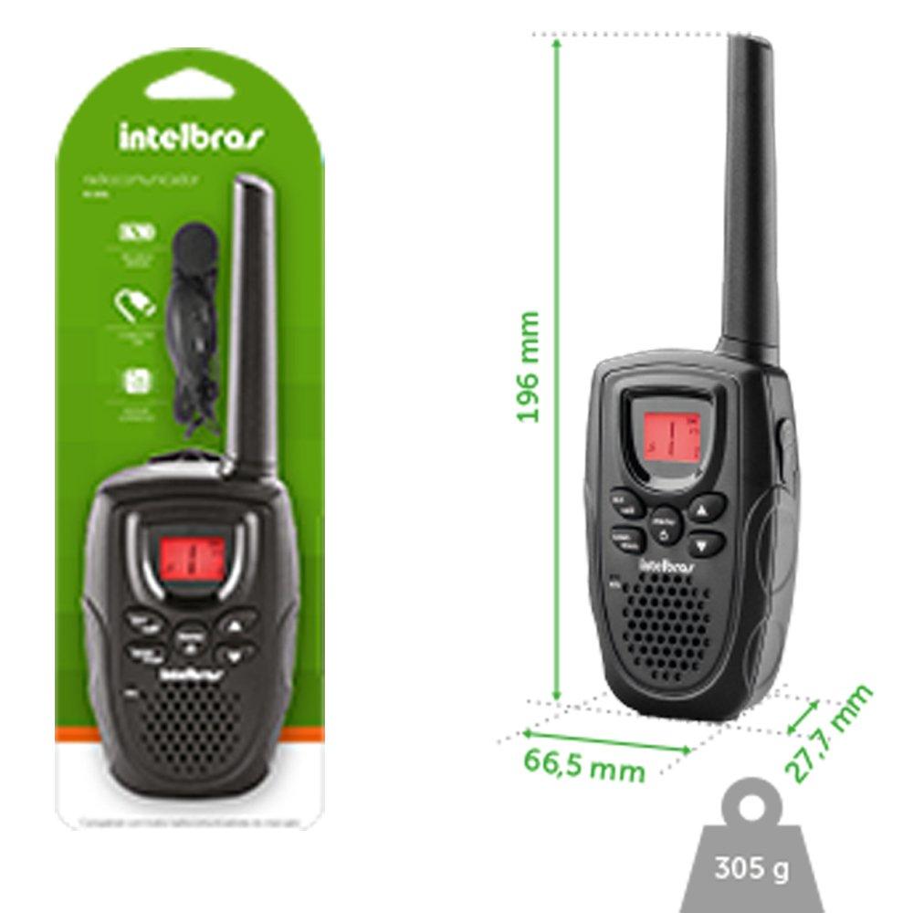 Radio Comunicador RC 5001 Intelbras *  - Eletroinfocia