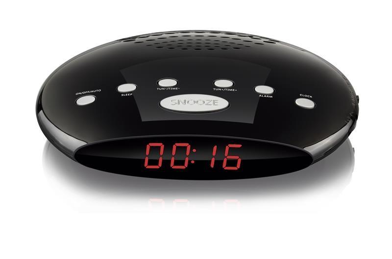 Rádio Relógio 5W Led Despertador Bivolt SP167 Multilaser  - Eletroinfocia