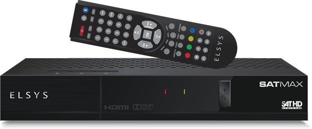Receptor Digital C/R Elsys Digital HD Satmax  - Eletroinfocia