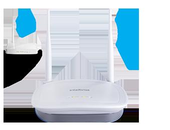 Roteador Wireless IWR 3000N 300MBPS Intelbras  - Eletroinfocia
