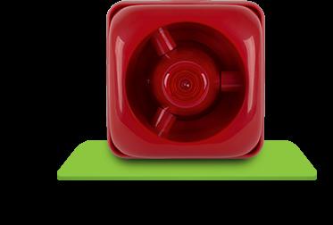 Sinalizador Áudio Visual Convencional SAV 420C Intelbras  - Eletroinfocia