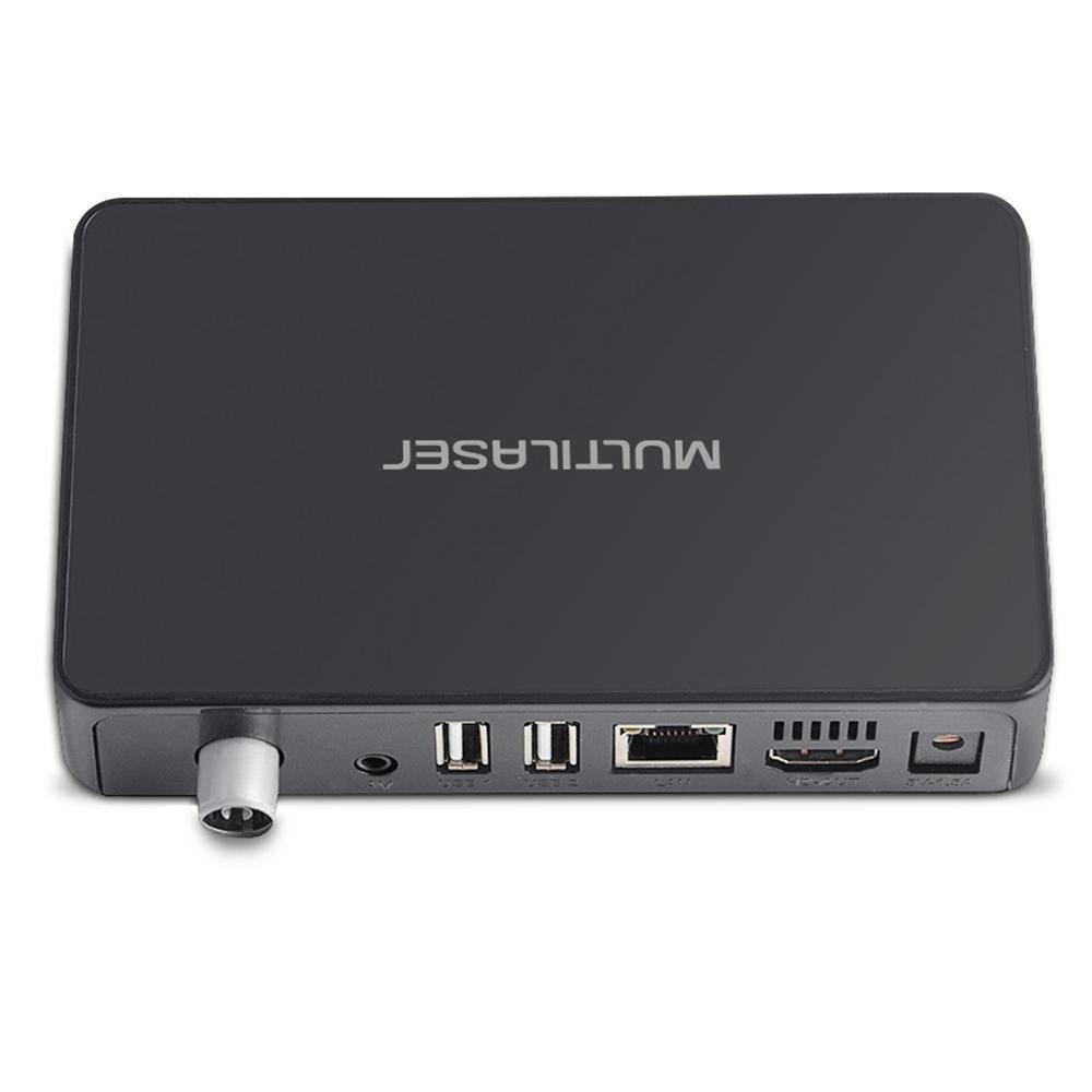 Smart TV Box Híbrido Android + Conversor Digital 1GB RAM + 8GB Flash PC001 Multilaser.  - Eletroinfocia