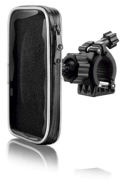 Suporte De Smartphone 4 POL. p/ Bicicleta AC255 Multilaser  - Eletroinfocia