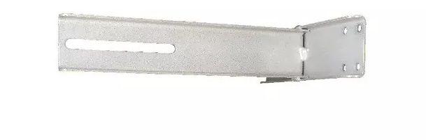 Suporte p/ Fixação de Motor em Portão Basculante Fixo Cinza  - Eletroinfocia
