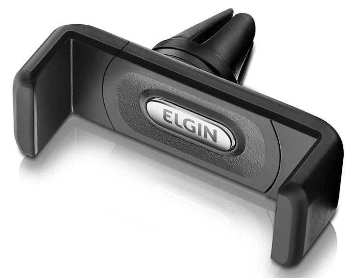 Suporte Universal Veicular p/ Smartphone p/ Entrada de Ar Elgin  - Eletroinfocia