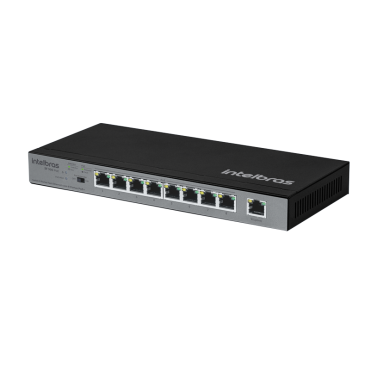 Switch 9 Portas Sf 900 Poe (C/8 Poe+) Intelbras  - Eletroinfocia