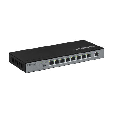 Switch 9 Portas SF 900 Poe (C/8 Poe+) Intelbras