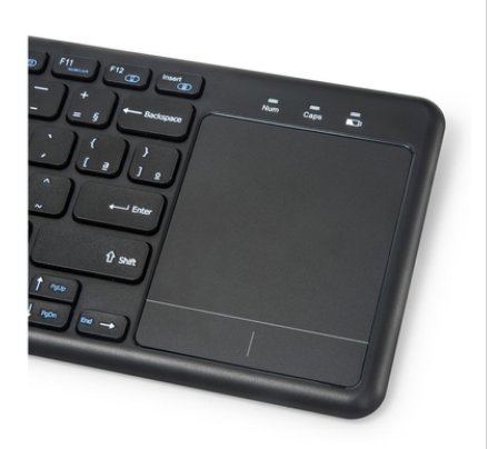 Teclado Sem Fio c/ Mouse Touch K-WT100BK C3 Tech  - Eletroinfocia
