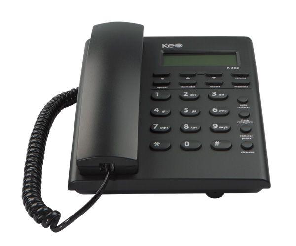 Telefone com fio KEO K302