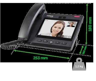Telefone Ip - Tip 638V Intelbras  - Eletroinfocia
